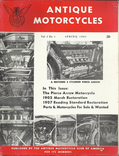 5 Issues of Antique Motorcycles Magazine, 1962-1963