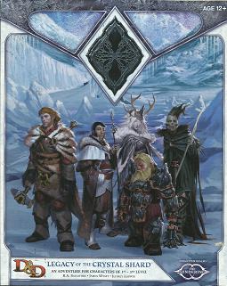 Legacy of the Crystal Shard - R A  Salvatore & James Wyatt - 9780786964642